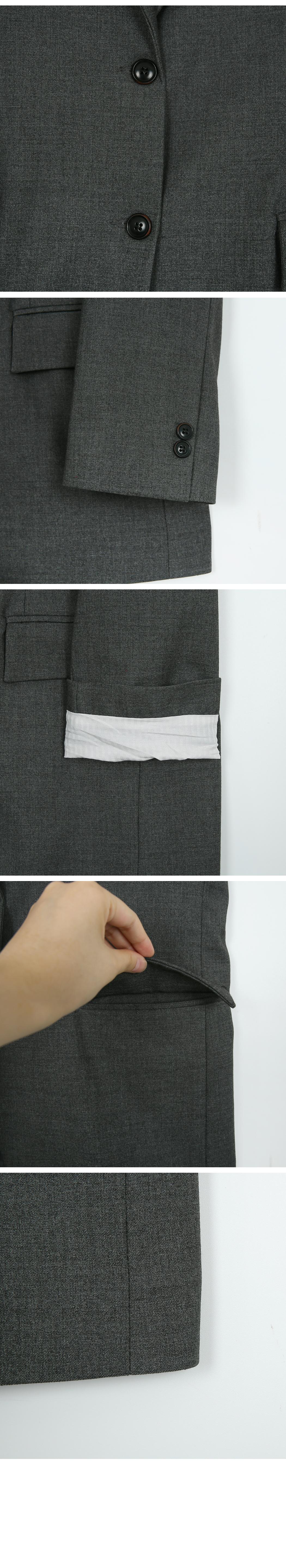 Mare Boyfriend Fit Wool Jacket