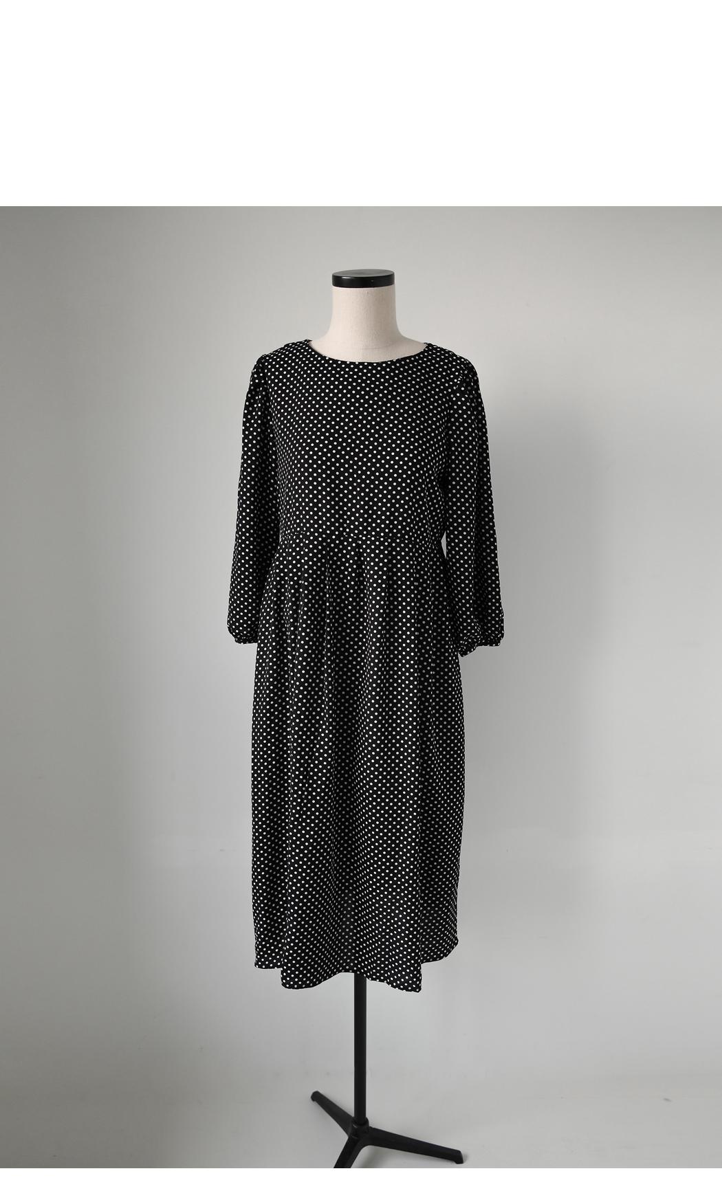 Polka-round dot dress