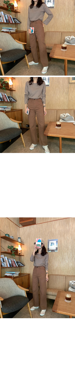 PBP.Neutral Square Neck Stripe Tee