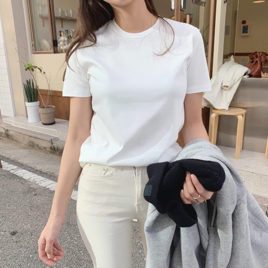 Soft short sleeve tee