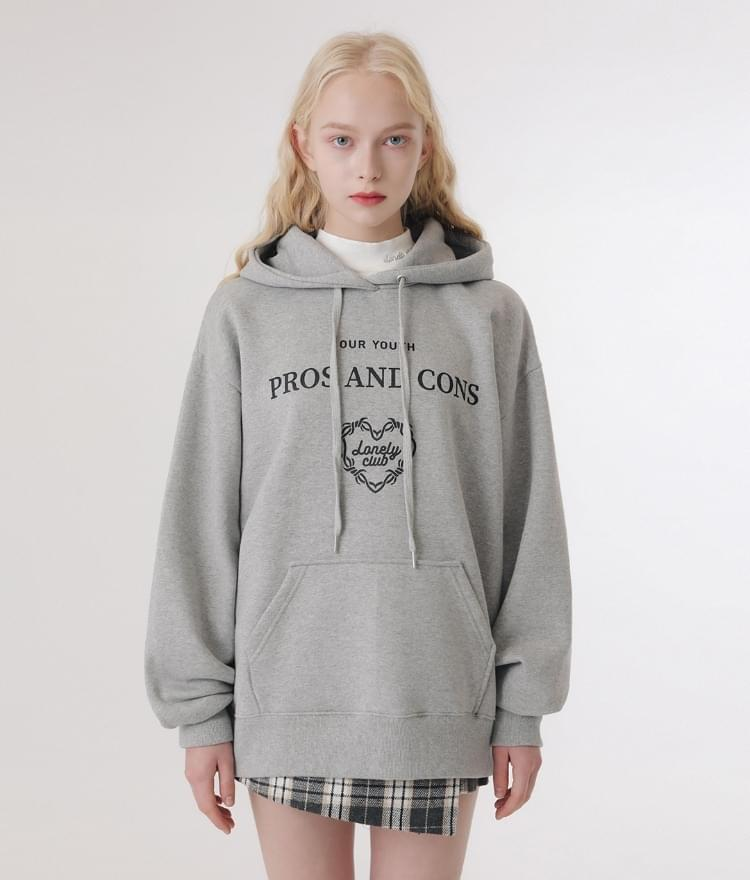 Lonely Layout Logo Hoodie