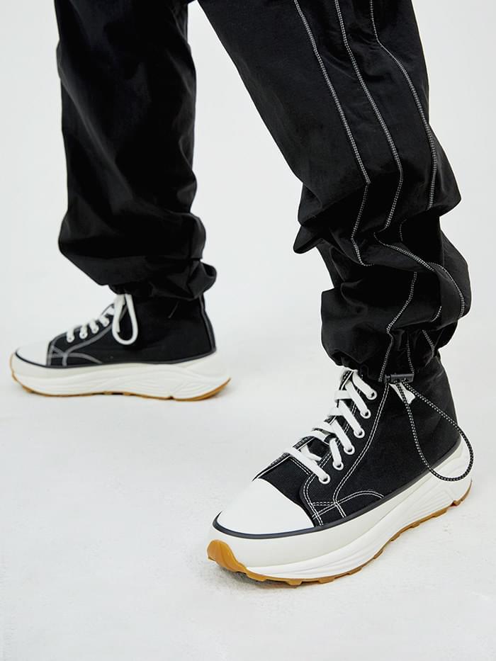 platform canvas shoes (2 color) - men