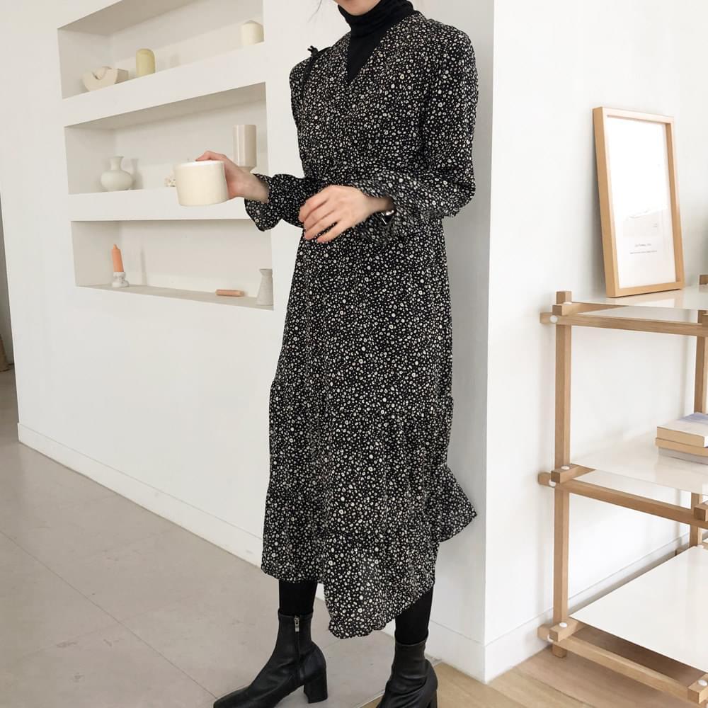 Black Caffe Long Dress