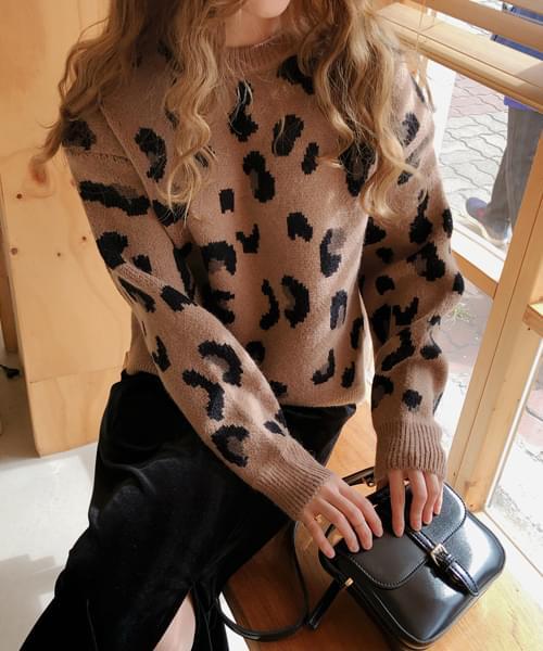 Sense leopard knit