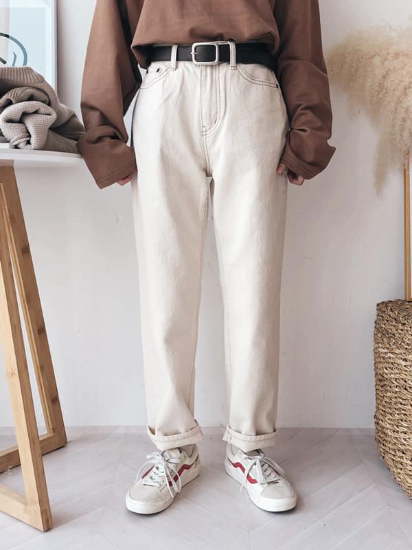 512 boyfit cotton pants