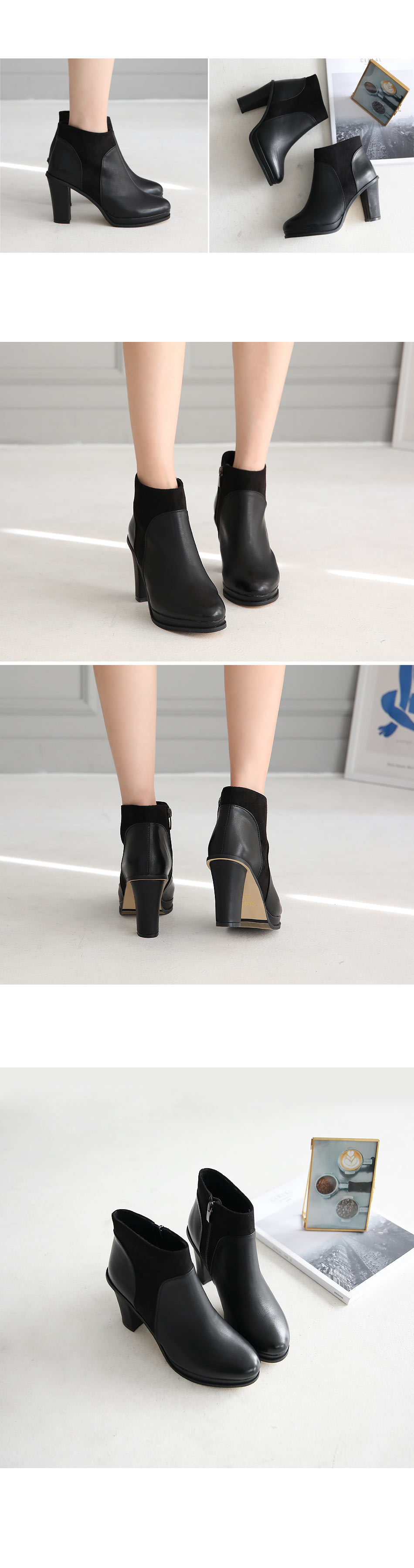 Leeven Ankle Boots 9cm