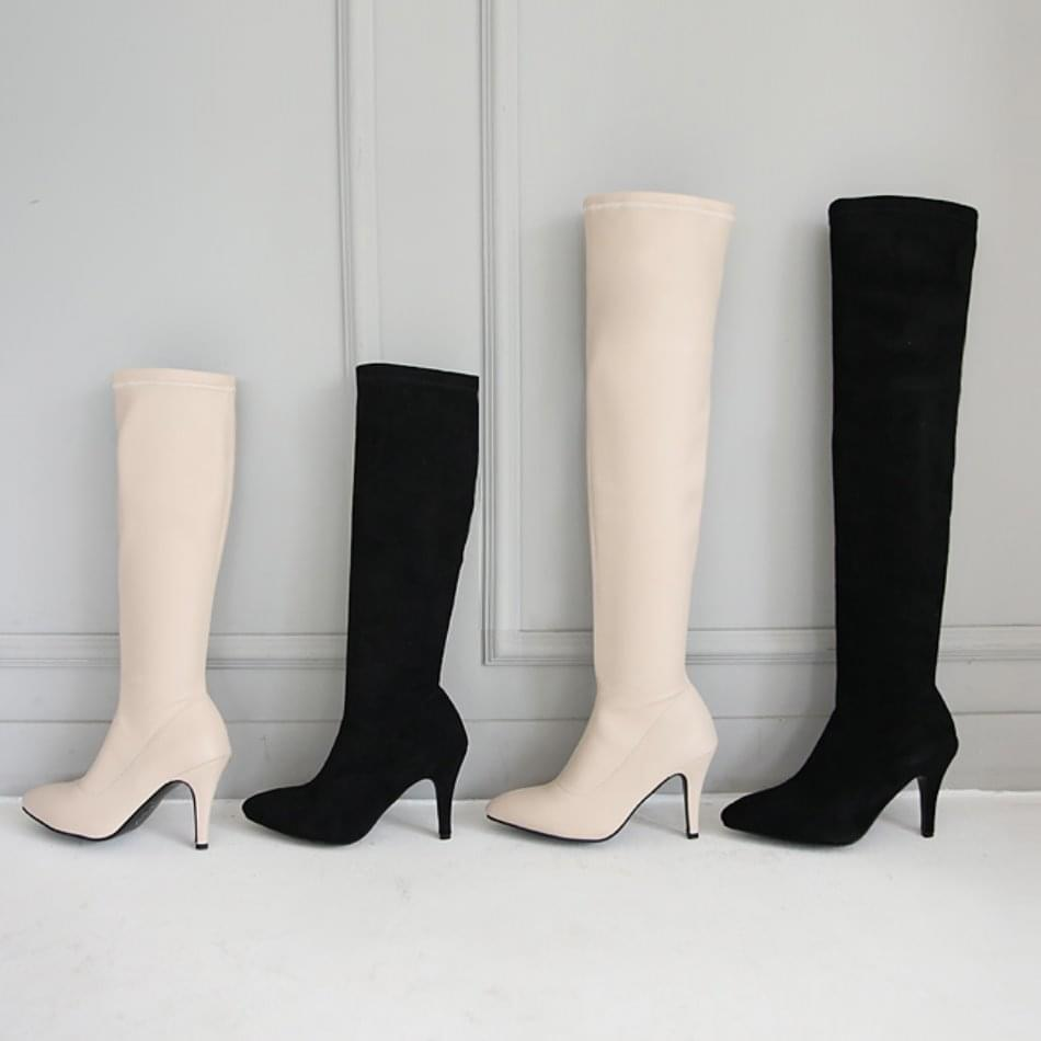 Fuken Sox Long & Knee High Boots 9cm