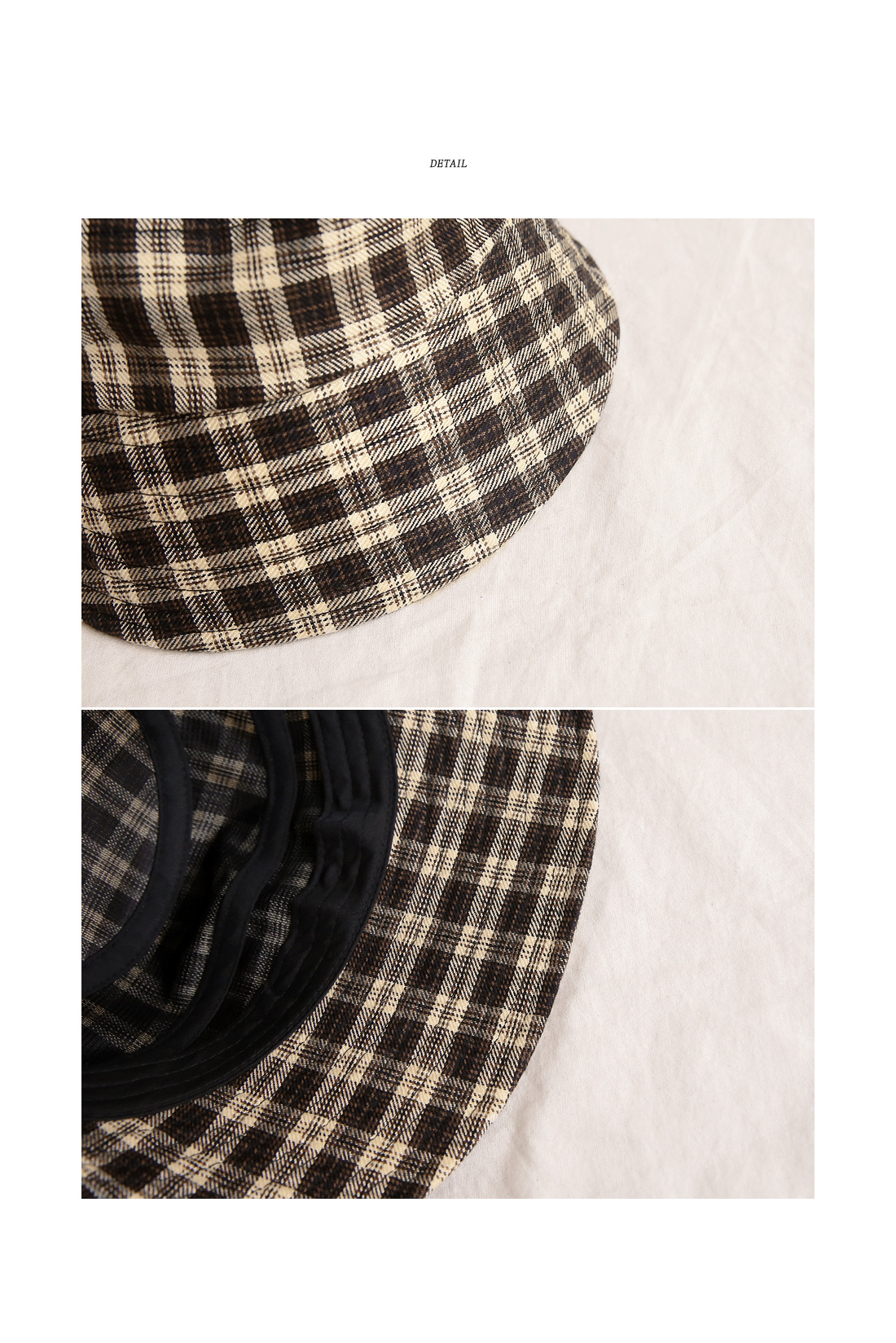DIXON CHECK BUCKET HAT