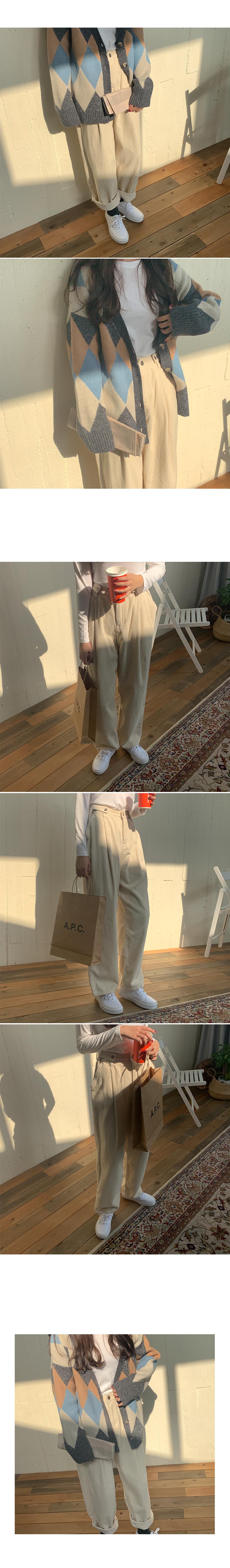 Kaze corduroy pants