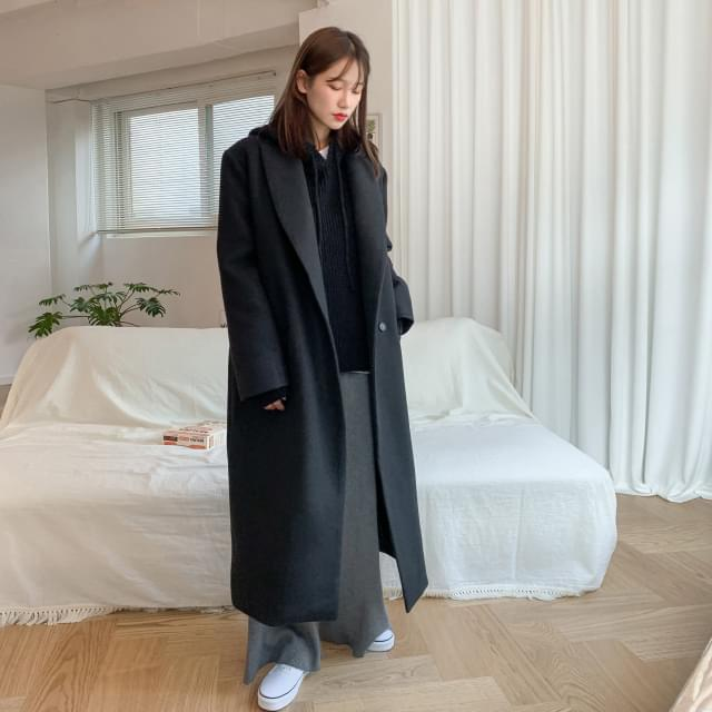 Daily tailored long coat-ct