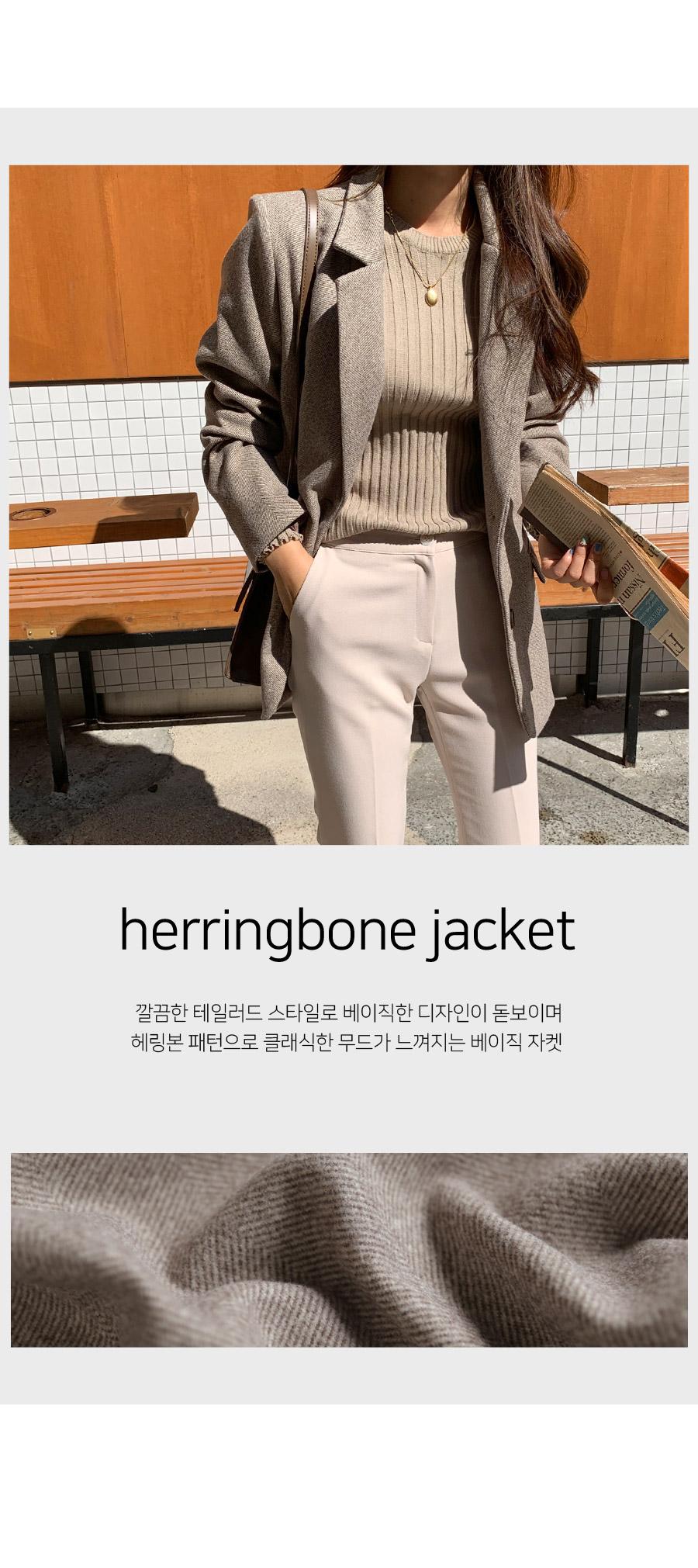 Beheringbone Basic Jacket