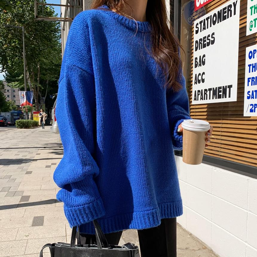 Tom's Overfit Double Round Knit