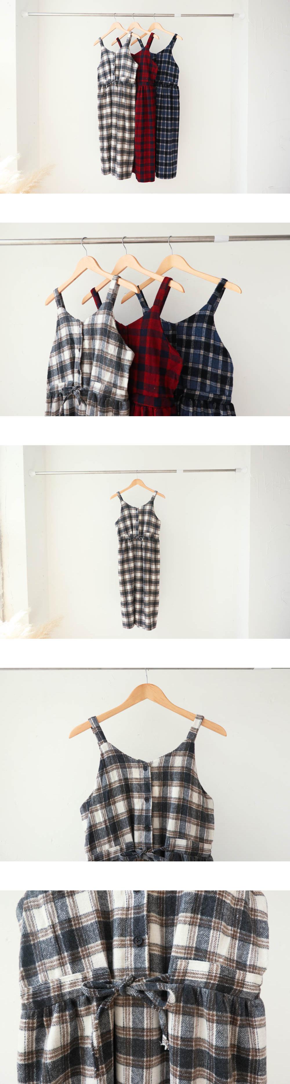 Checkdate bustier dress