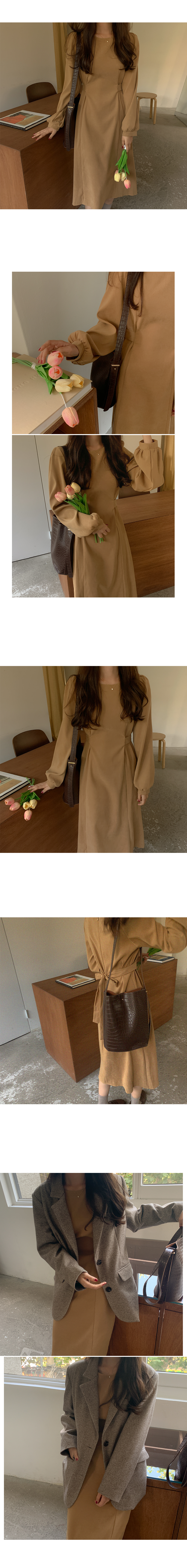 Cavill Pintuck Dress