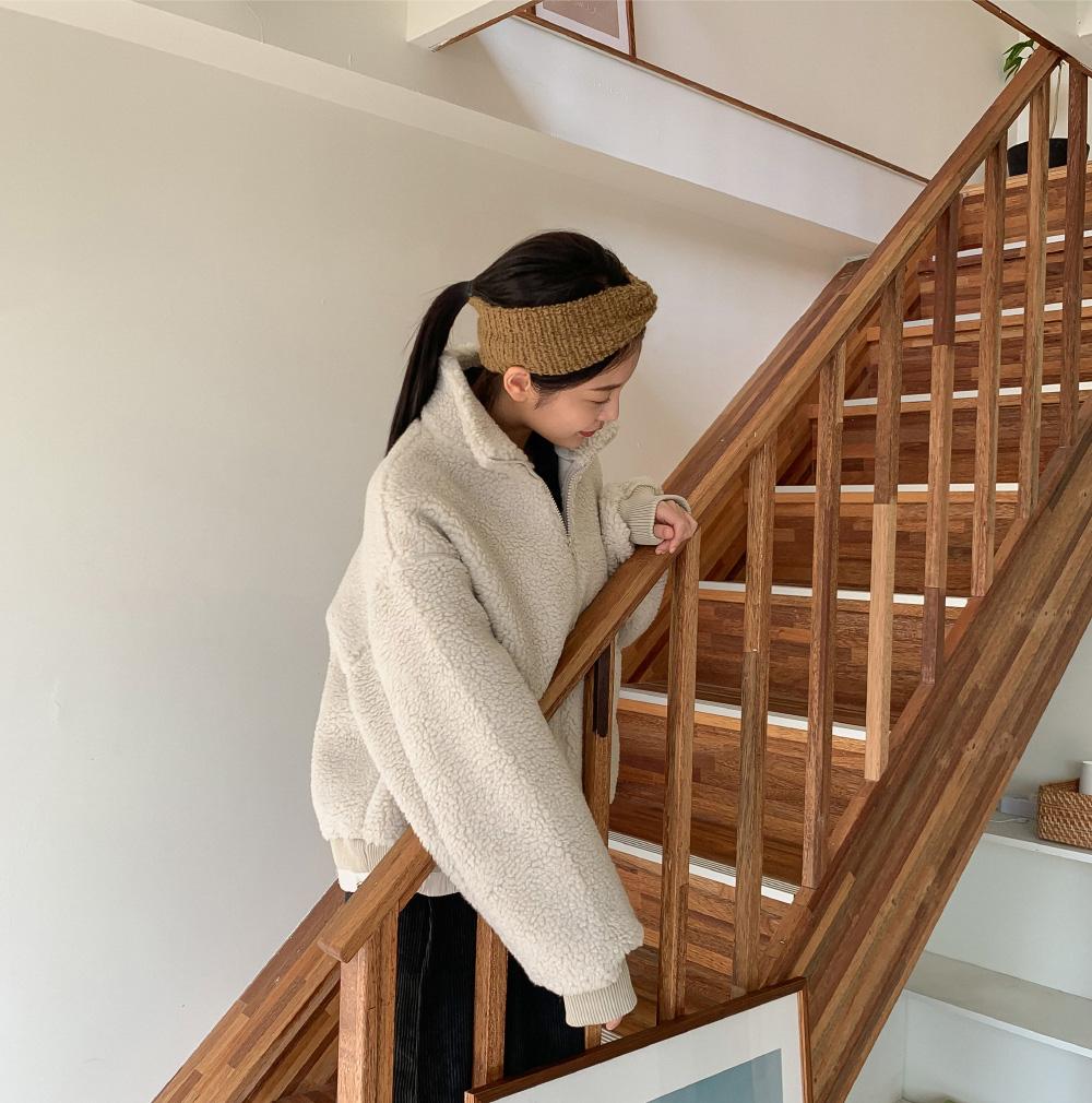 High-necked Anorak jumper-jp