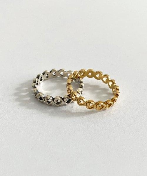 (silver925) coeur ring