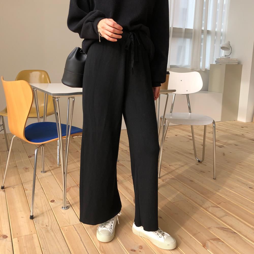 Knit Date Pants