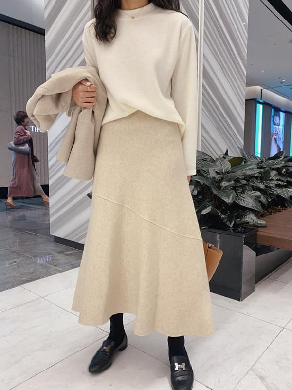 Brunello full knit skirt