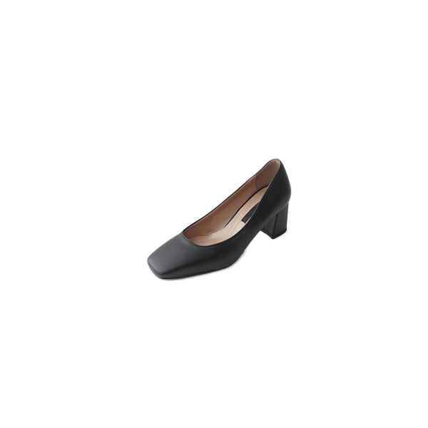 wearable square middle heels