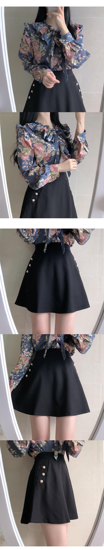 Armand Pearl Lace Skirt Pants