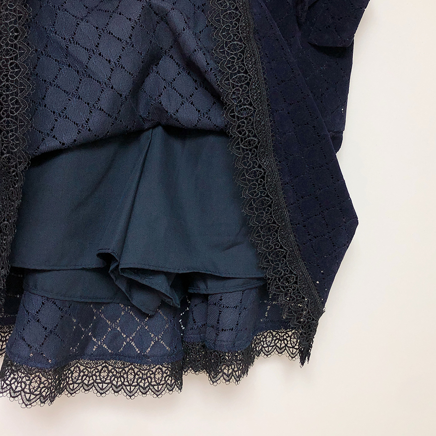 Belly Lace Skirt Pants