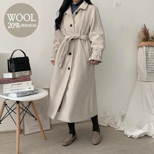 Polo Wool Long Coat