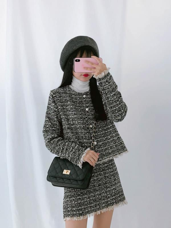 Surgical tweed jacket