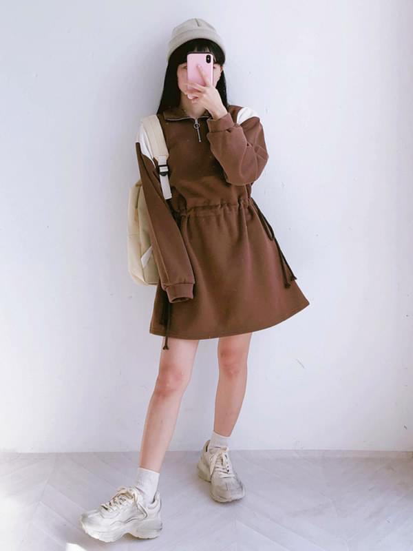 Shoulder Point Dress (ops0105)