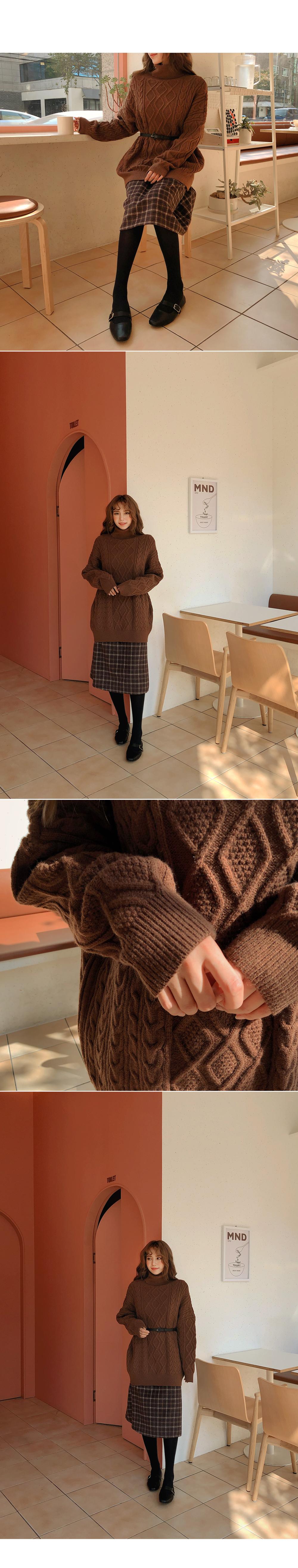 Daily dress check dress
