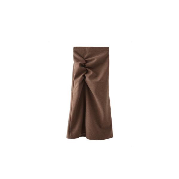 front shirring skirt