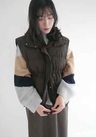 wellon side strap padding vest