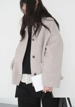 handmade over half coat