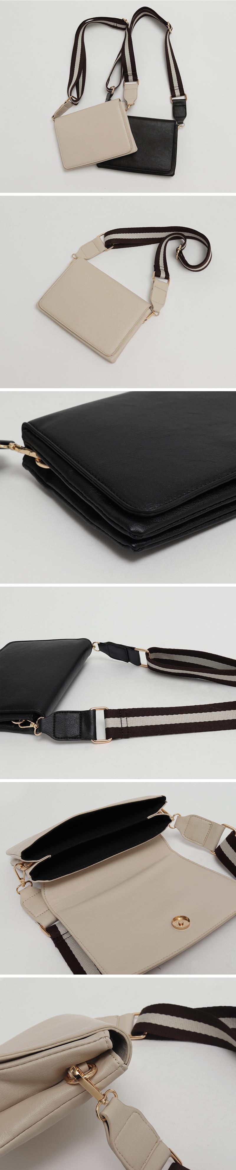 Log strap cross bag_U