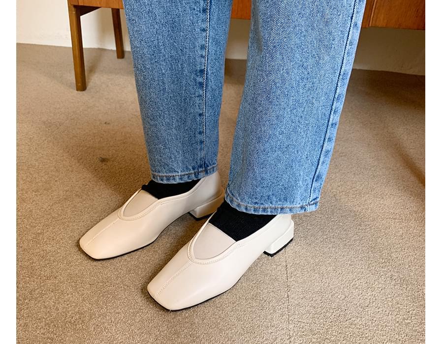 Plave flat heel shoes_J