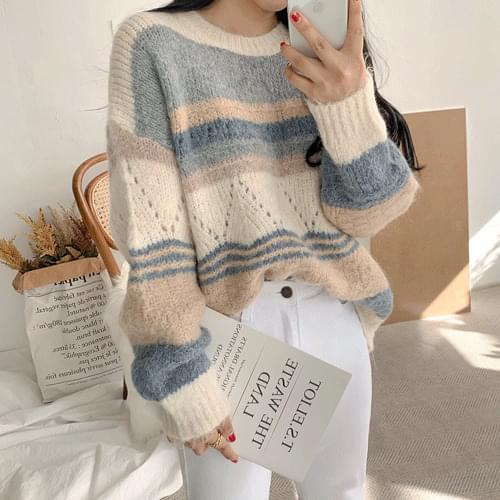 Terra Color Wool Knit 針織衫