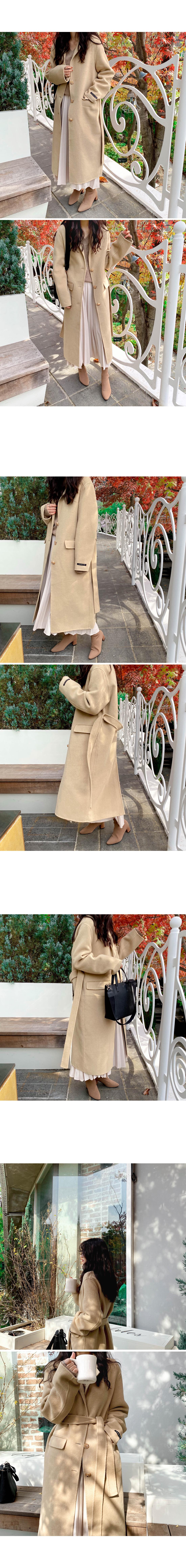 Bernie Handmade Long Coat