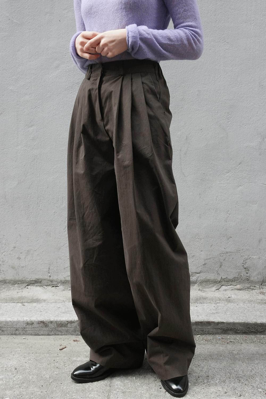 well made pintuck pants 長褲