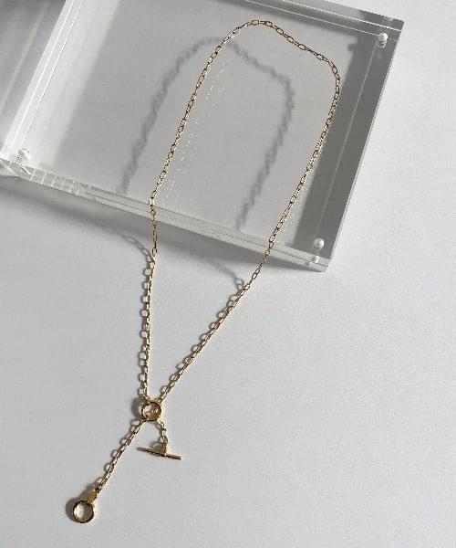 (silver925) tou necklace