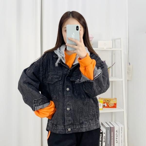Overfit Hood Blue JK