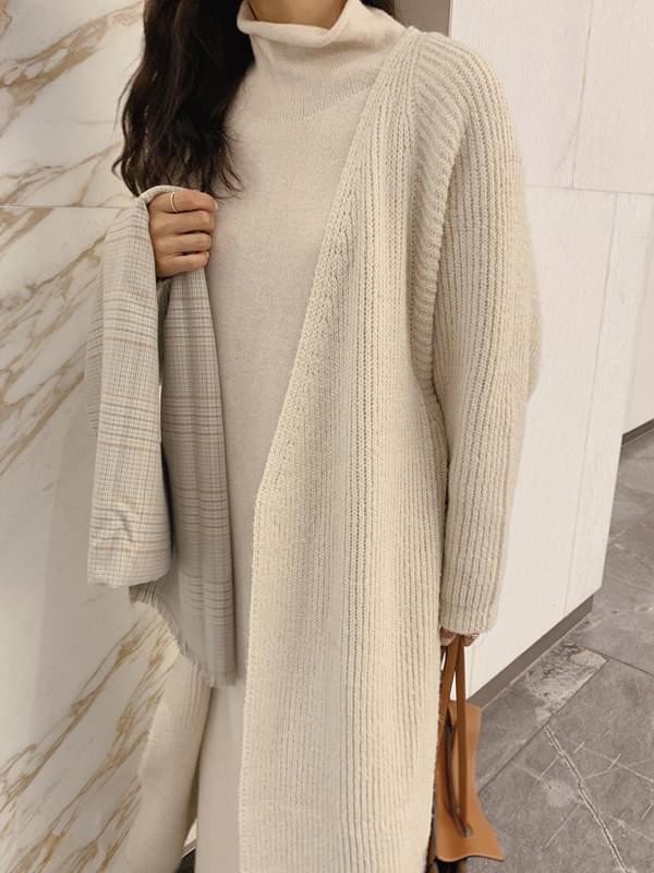 Monde Robe Knit Coat