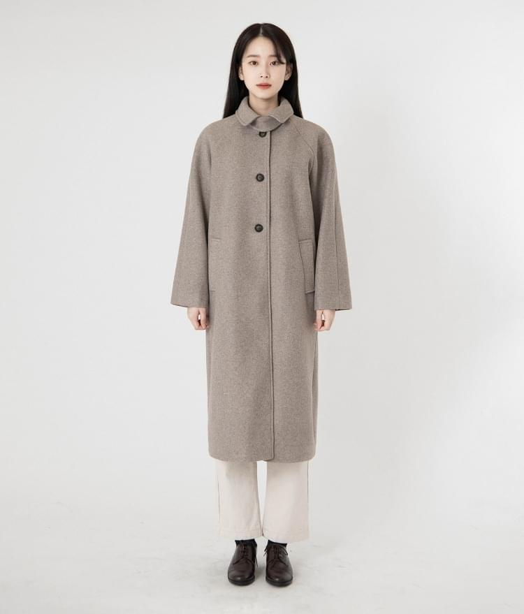 Soft Cheese Wool Long Coat 大衣外套