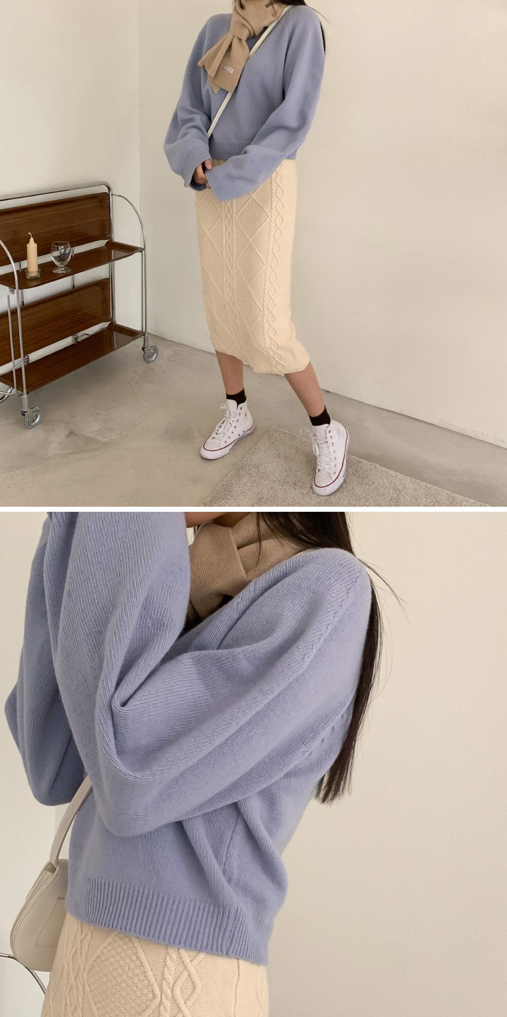 simple design wool muffler