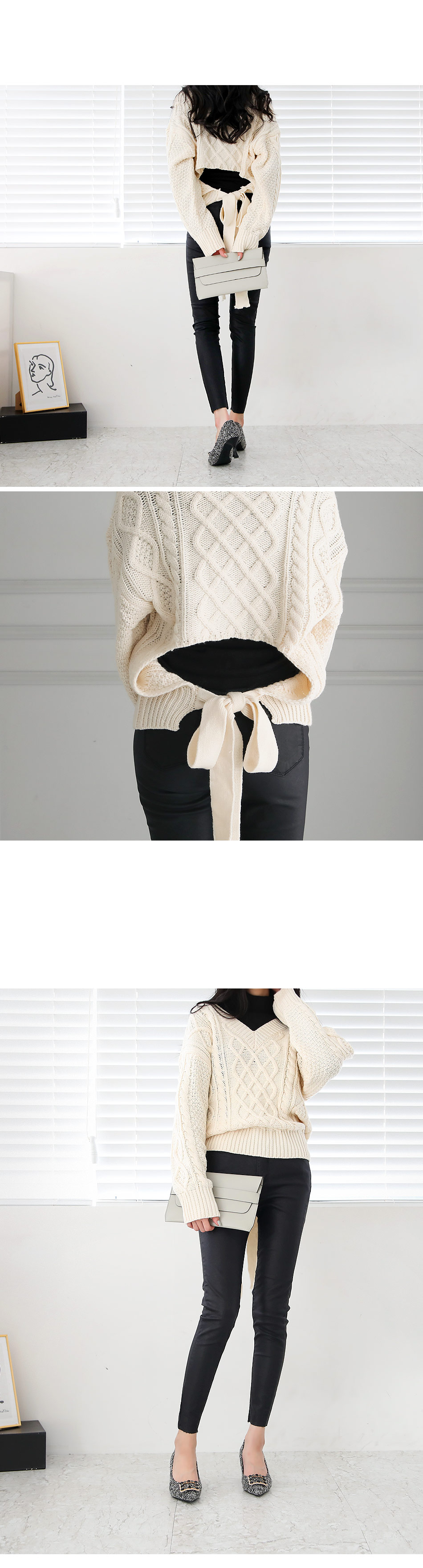 Webens backpoint knit