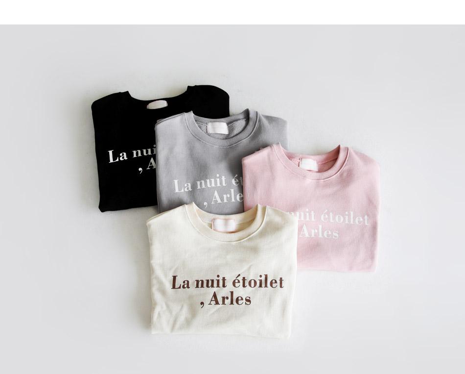 French man-to-man t-shirt
