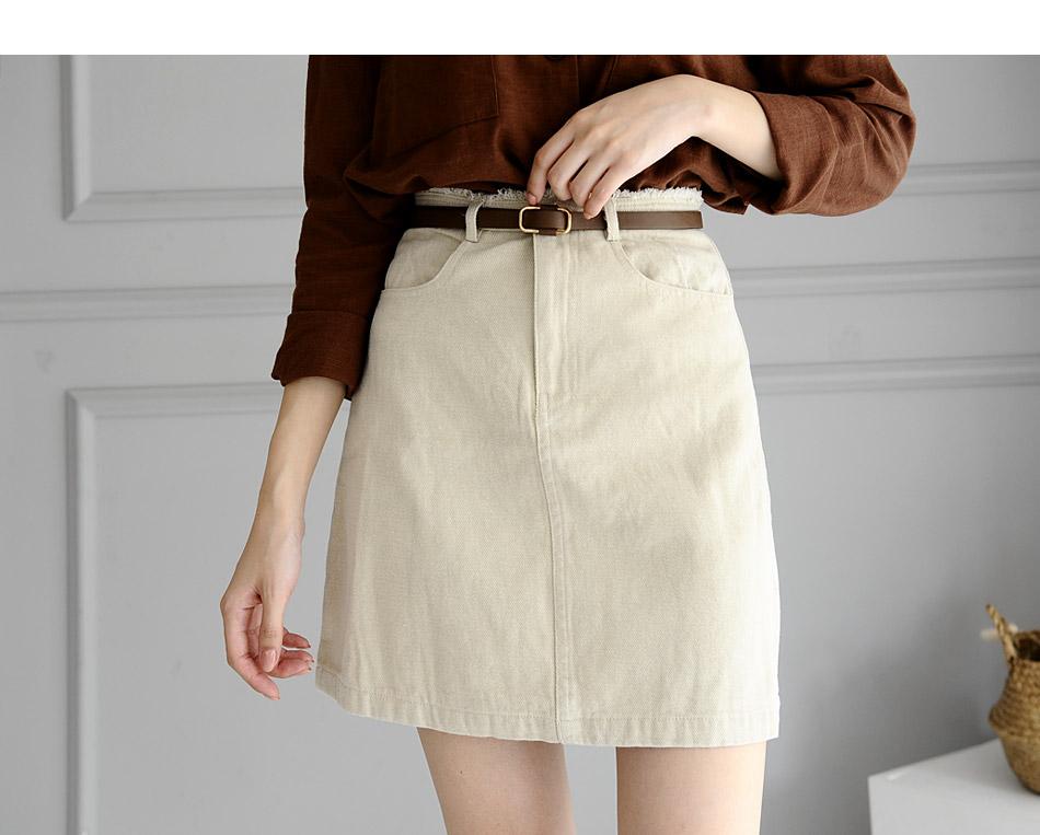 Ikenz Mini Skirt