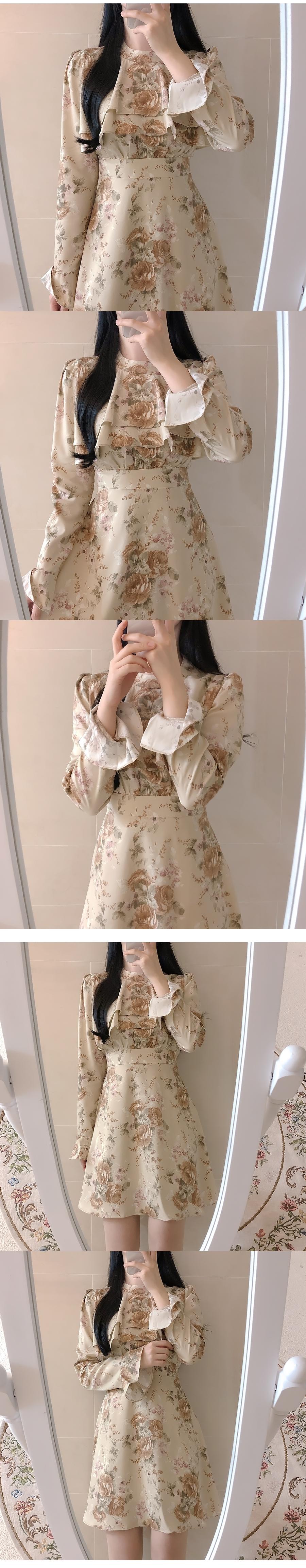 Cherni floral dress