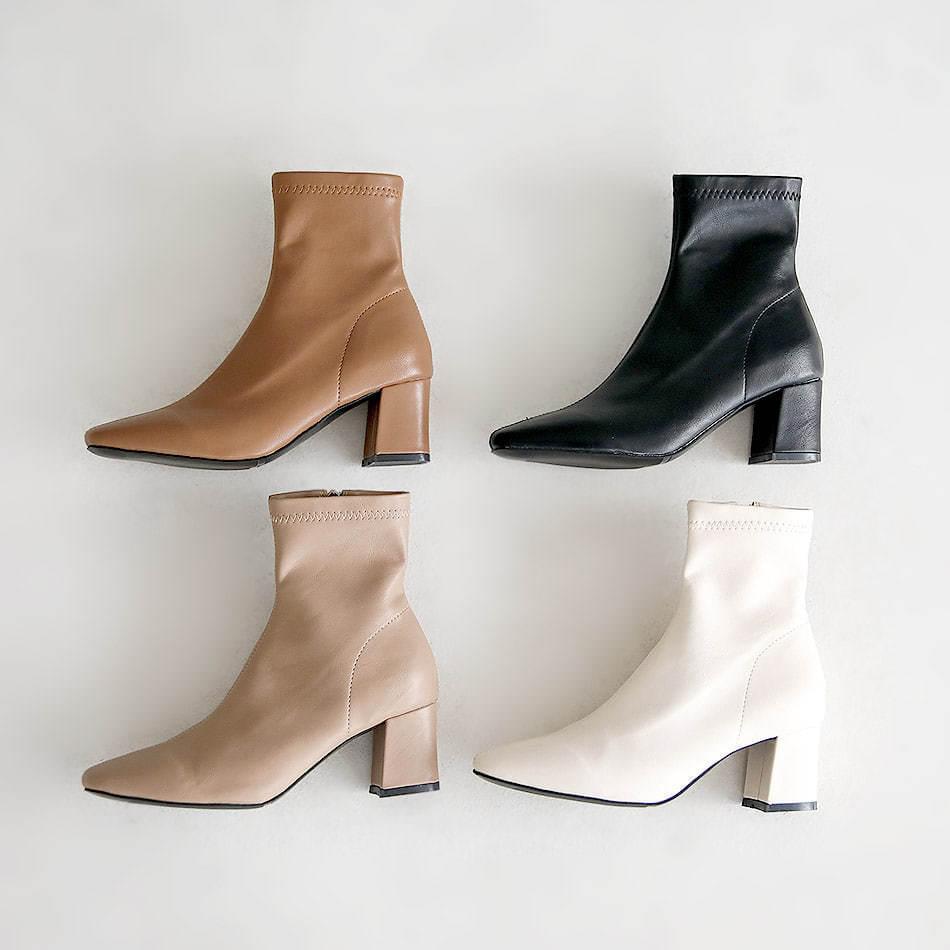 Elcardin Sox Ankle Boots 6cm