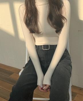 韓國空運 - Velita Cowhide Belt 腰帶