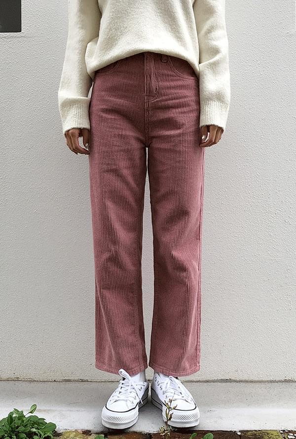 Candy corduroy pants