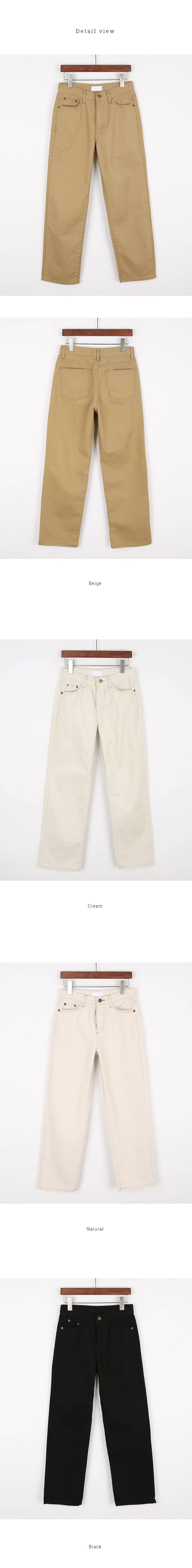 William cotton pants